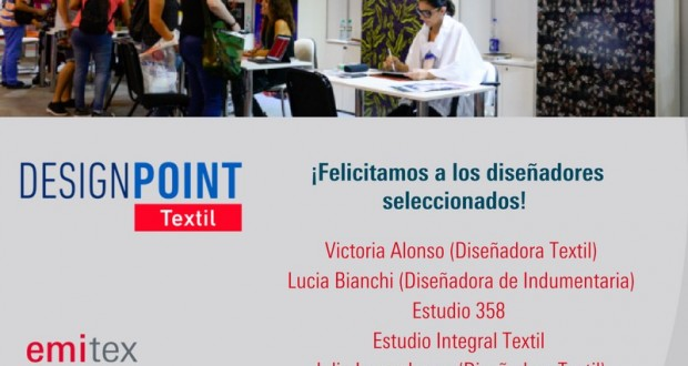 Seleccionados Design Point Textil 2018